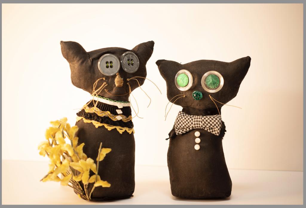 anna newman ragtyme design cats